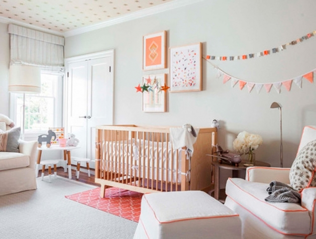 Por qué los tonos pastel están hechos para los cuartos infantiles