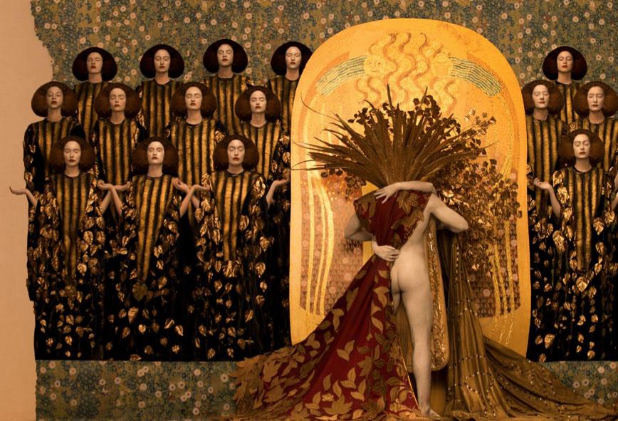 La asombrosa recreaci n de las pinturas de klimt con modelos reales s moda el pa s - Pinturas de moda ...