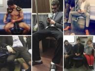 'Manspreading': el año que se juzgó a los hombres que se abren de piernas