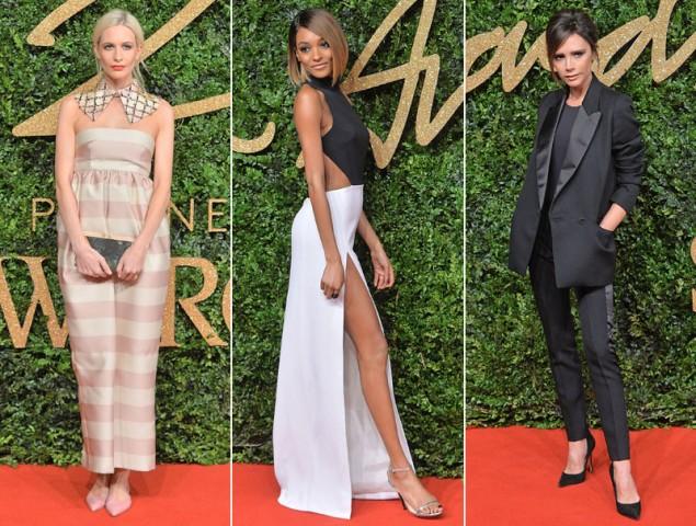 Todos los looks de los British Fashion Awards