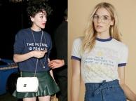 ¿Por qué se llevan las camisetas con lemas feministas de los 70?