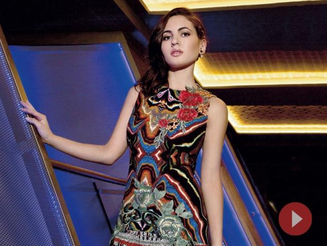 Así transformamos a Ivana Baquero para fotografiarla en S Moda