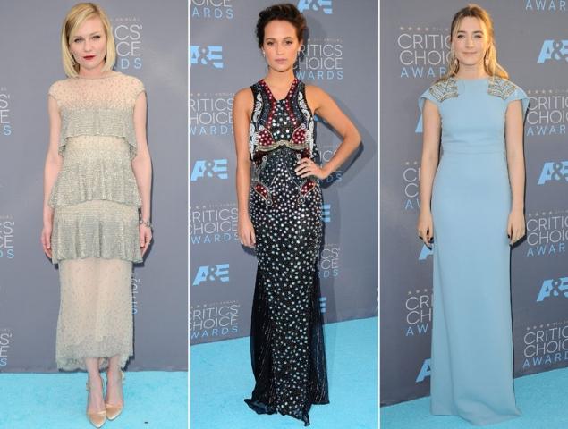 Todos los looks de los Critics' Choice Awards