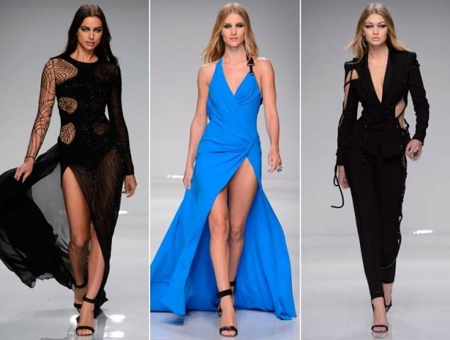 Una legión de supermodelos en el desfile más deportivo de Atelier Versace