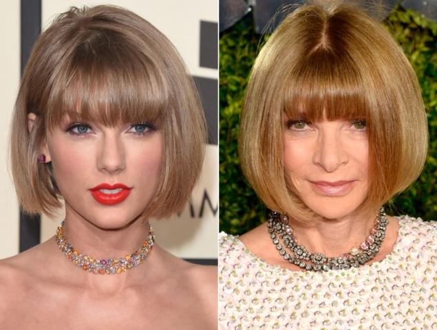 El carré, mucho más que el nuevo peinado de Taylor Swift