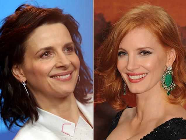 Jessica Chastain y Juliette Binoche crean una productora feminista en Hollywood