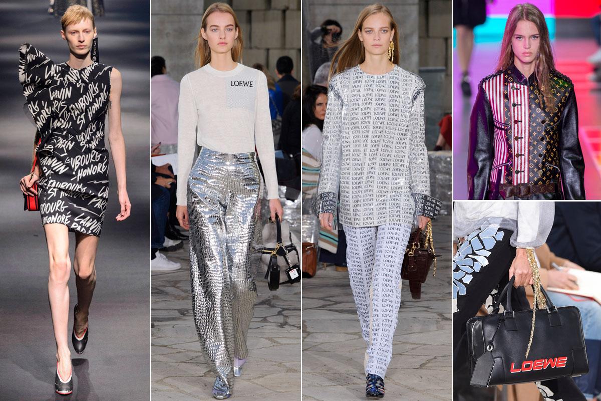 Las apuestas de Lanvin, Loewe y Louis Vuitton para esta temporada.