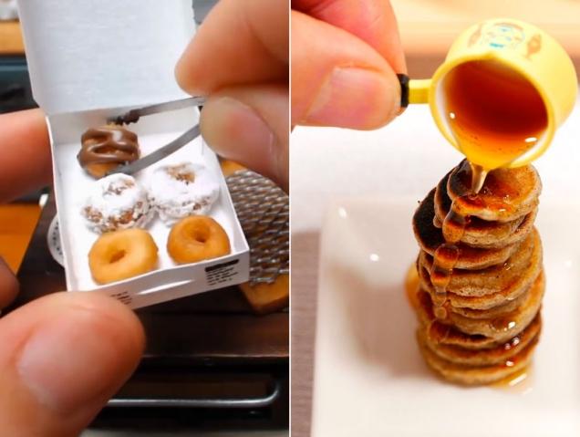 Los vídeos japoneses de comida en miniatura que te van a hipnotizar