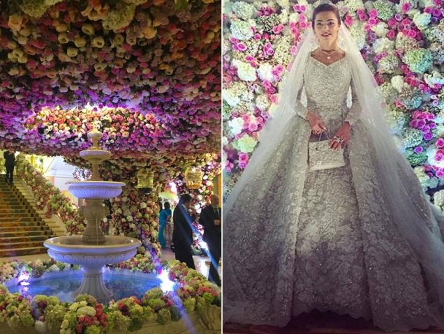 Las 10 locuras de la boda más cara de la historia de Rusia