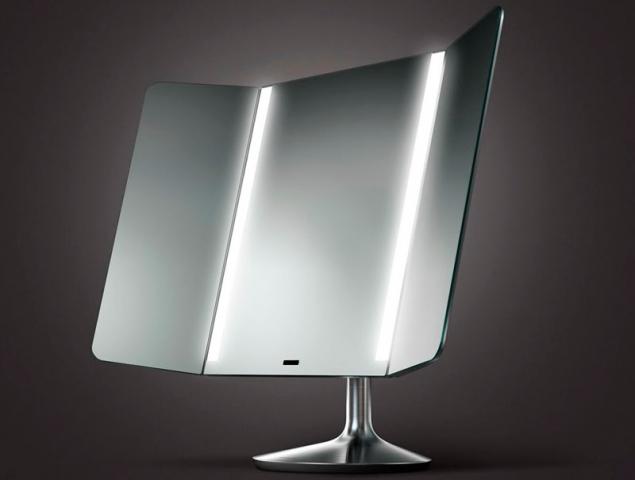 Este es el espejo del futuro (y vas a querer maquillarte en él)
