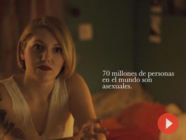 El vídeo en el que cuatro asexuales cuentan cómo se sienten