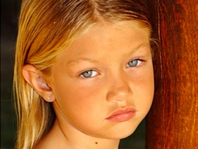 Las fotos de Gigi Hadid cuando era pequeña que no podemos dejar de ver