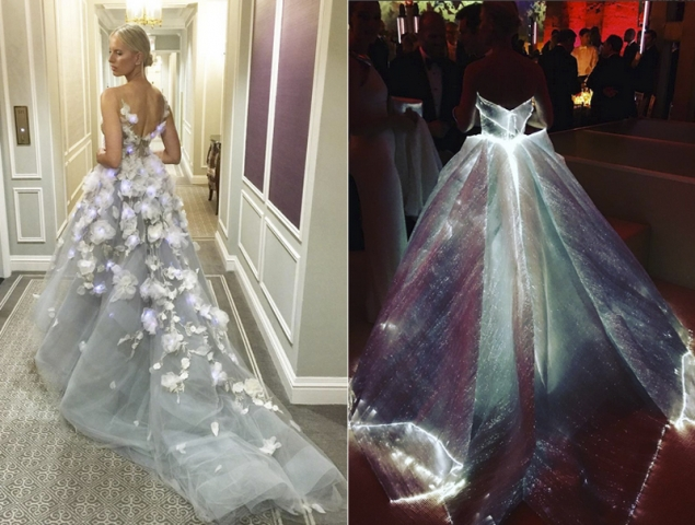 vestidos iluminados gala MET 2016