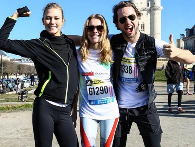 Detrás de Natalia Vodianova hay una 'runner' imparable
