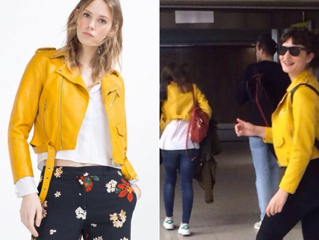 Chaqueta amarilla de Zara