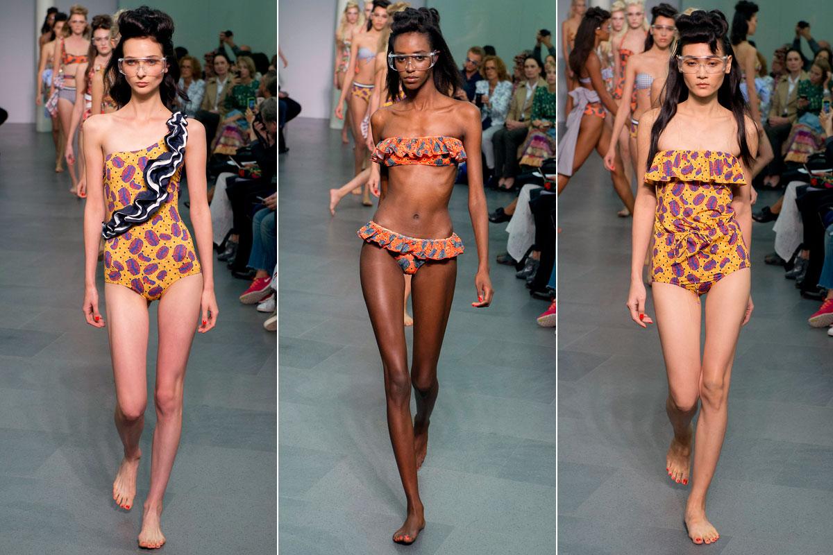 flamenkini bikini para el verano 2016