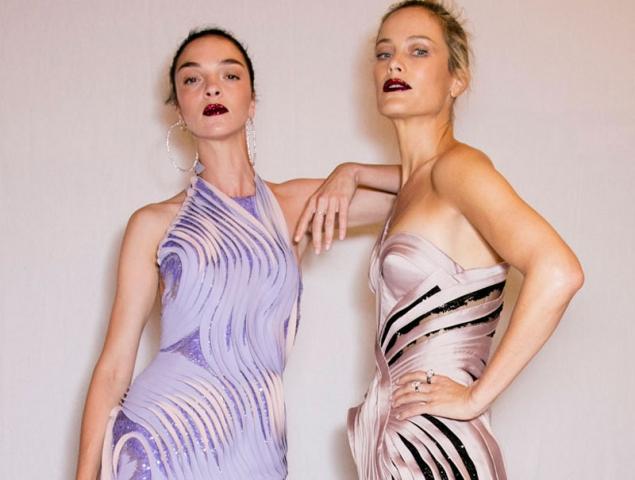 El invierno color pastel de Atelier Versace