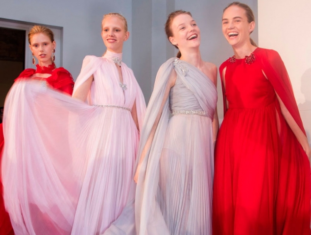 Las princesas de tul de Giambattista Valli