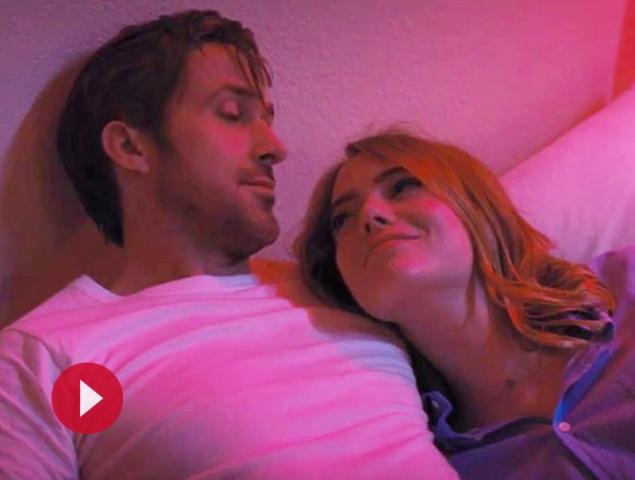 El romántico (y surrealista) reencuentro de Emma Stone y Ryan Gosling en 'La la Land'