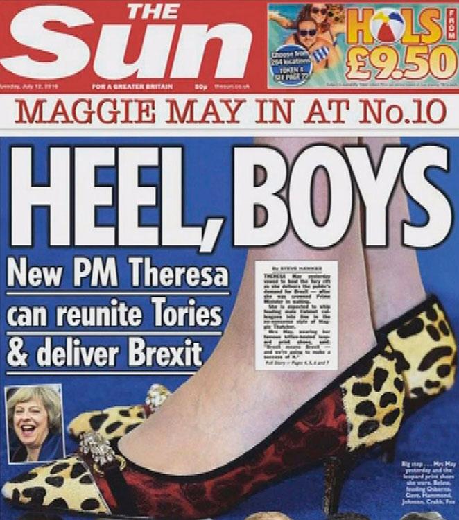 zapatos Theresa May