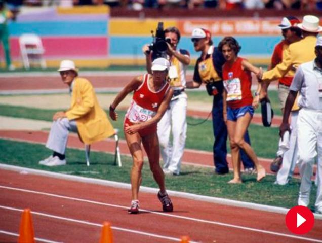 Juegos Olímpicos: El emocionante vídeo de la mujer que nunca se rinde