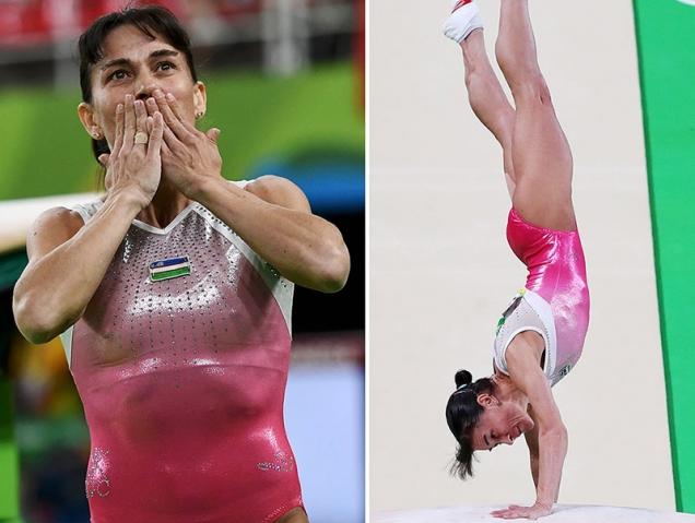 Oksana Chusovitina juegos olimpicos río 2016