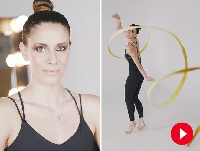 Tutorial: el maquillaje de las gimnastas españolas de rítmica