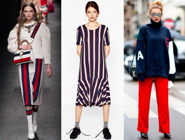 Rojo, azul y blanco: la mezcla de colores que querrás llevar este otoño