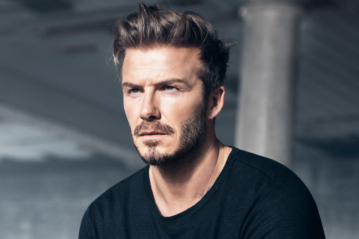 corte de pelo David Beckham