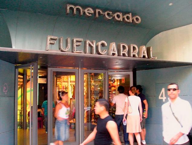 mercado de fuencarral madrid