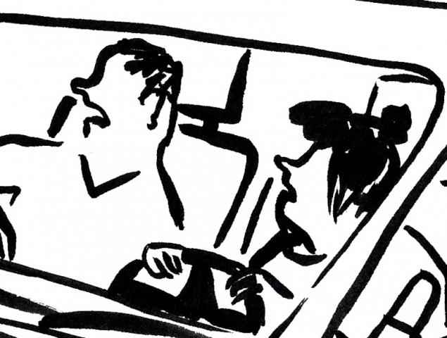 La viñeta de Flavita Banana: lecciones de conducción