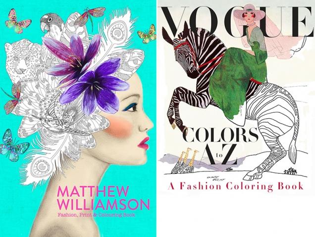 15 libros de moda para colorear (y relajarte)