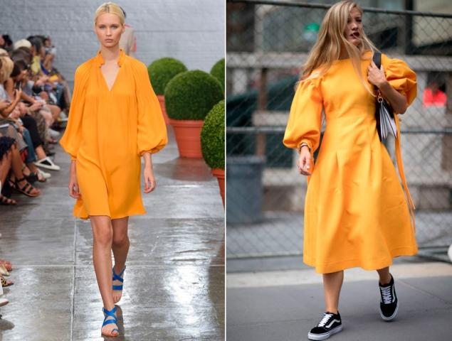 'Namarillo', el híbrido entre amarillo y naranja que lo teñirá todo