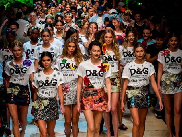 El 'tropico italiano' de Dolce & Gabbana