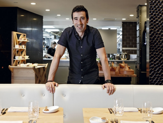 """Eneko Atxa: """"Quiero que al salir de mi restaurante de Londres te apetezca conocer el País Vasco"""""""