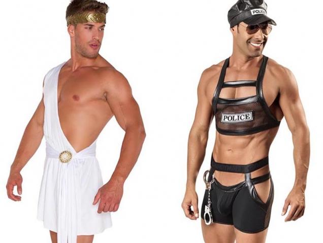 Este Halloween, los disfraces sexys también son cosa de hombres