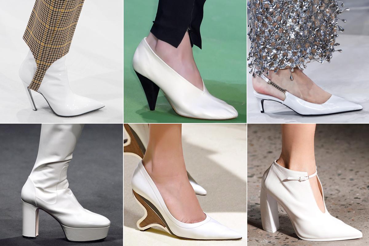 zapatos blancos tendencia