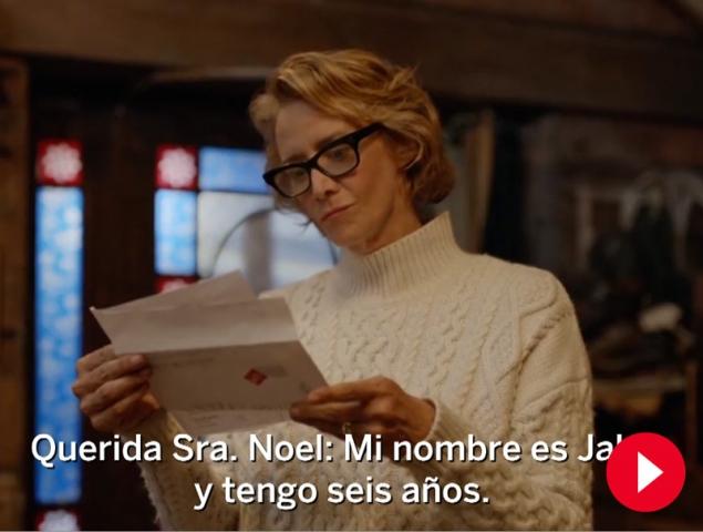 Este anuncio, con Mamá Noel de protagonista, es el favorito de los británicos