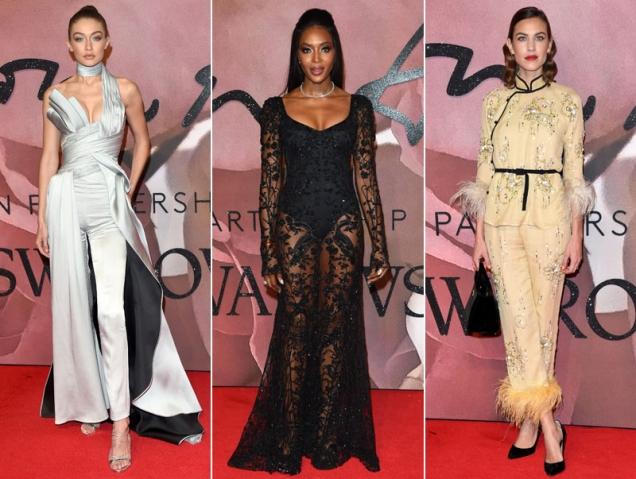 Todos los looks de los Fashion Awards 2016
