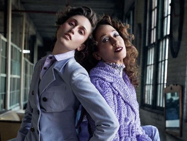 Pat y Anna Cleveland, musas que brillan con luz propia