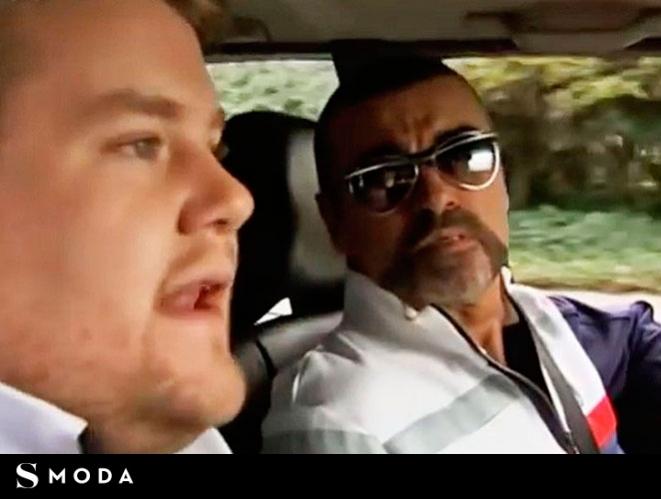 George Michael protagonizó el primer 'Carpool karaoke' de la historia