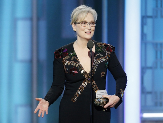 Meryl Streep discurso globos de oro 2017