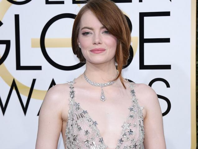 Emma Stone globos de oro 2017