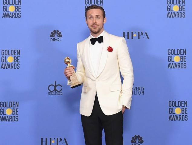 Ryan Gosling Eva mendes golden globes 2017