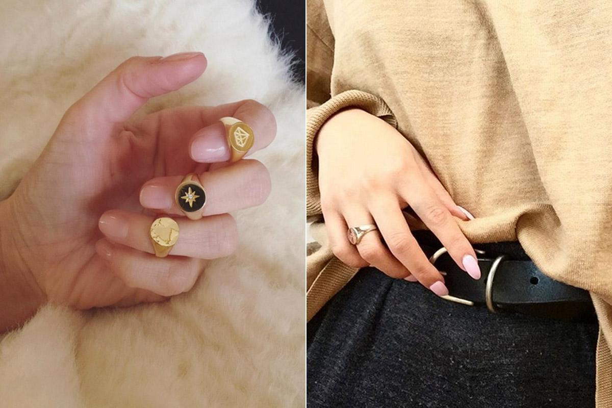 anillos sello