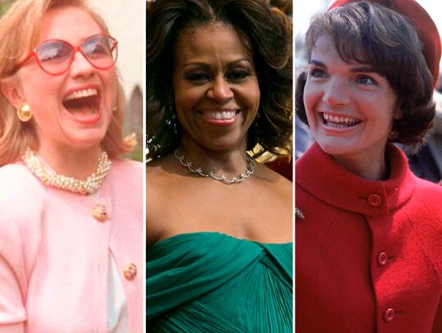Repaso visual al estilo de las primeras damas de Estados Unidos