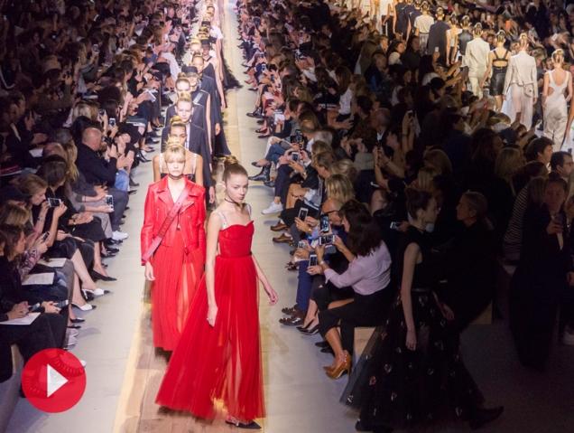 Así fue el desfile de Alta Costura de Dior