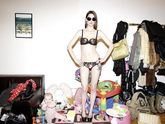 Jaggers, peluches y lencería: la vida secreta de los modelos