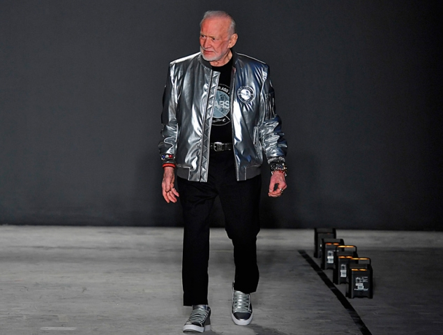 Buzz Aldrin, el astronauta que se convirtió en modelo a los 87 años