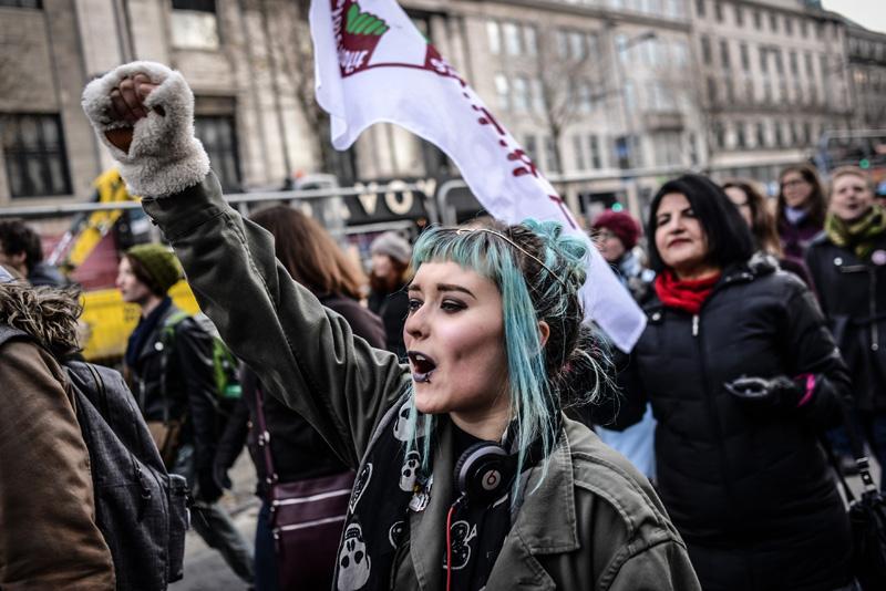 huelga femenina dia de la mujer